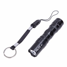 Mini LED Flashlights Waterproof LED Torch Penlight Medical Penlight Police Light Lamp Focus Portable Mini Handy Torch Lamp