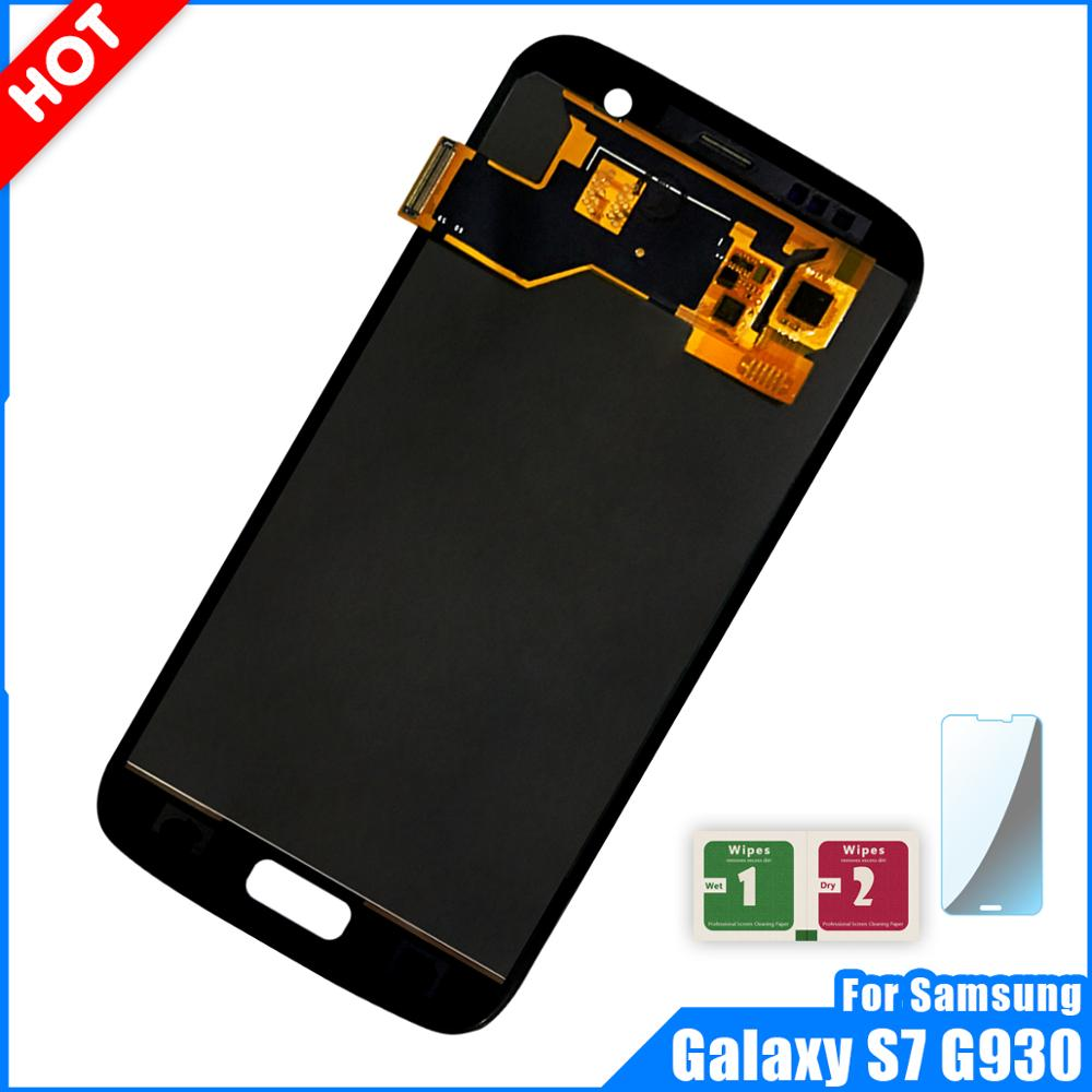High Quality LCD Display For Samsung Galaxy S7 G930 Touch Screen Digitizer Assembly G930A G930F SM-G930F LCD ReplacementHigh Quality LCD Display For Samsung Galaxy S7 G930 Touch Screen Digitizer Assembly G930A G930F SM-G930F LCD Replacement