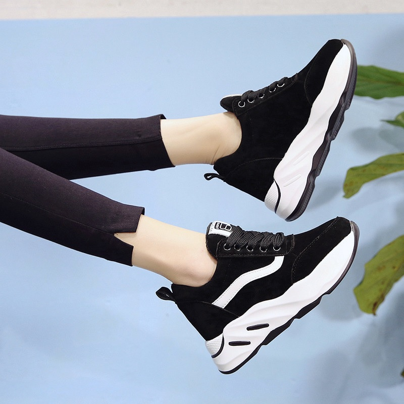 Women casual shoes spring autumn fashion platform shoes sweet sneakers shallow women shoes size 35-39 spring autumn fashion platform shoes casual sweet sneakers shallow women shoes size 34 43