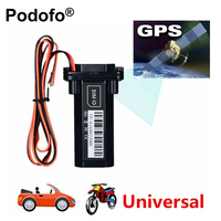 Universal Waterproof GSM GPS Tracker for Car Motorcycle Vehicle Tracking Device with Real Time Tracking System Built in Battery