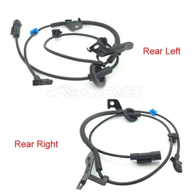 2x F/R Left&Right ABS Wheel Speed ABS Sensor 4670A581 4670A582 For CW4W CW5W CW6W CW8W ASX GA2W GA3W <font><b>4G69</b></font> <font><b>Mitsubishi</b></font> Outlander image