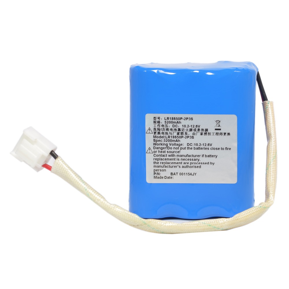 5200mAH New OTDR Battery for HY-800,LR18650P-2P3S 0015554JY 00000403 2600mah new otdr for yokogawa aq1200 aq1200b aq1200c aq1200e aq1205a aq1205e aq1205f im aq1200 02en 739882
