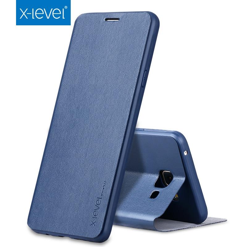imágenes para X-nivel Para Samsung Galaxy A3 2016 A310 A310F Caja Del Teléfono Ultra-delgado TPU Cubierta Del Tirón de cuero Para Samsung Galaxy A3 2017 Caso A320