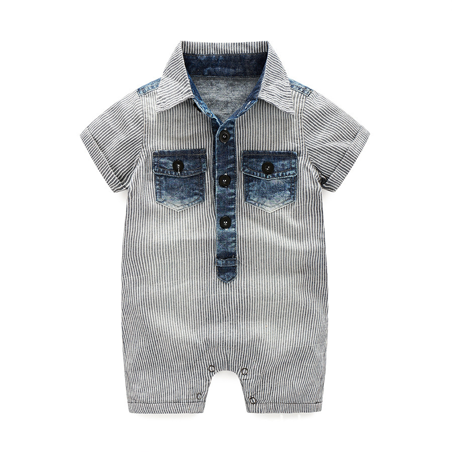 2019 baby boy clothes one-pieces jumpsuits baby clothing ,cotton short   romper   infant boys clothes roupas menina summer playsuit