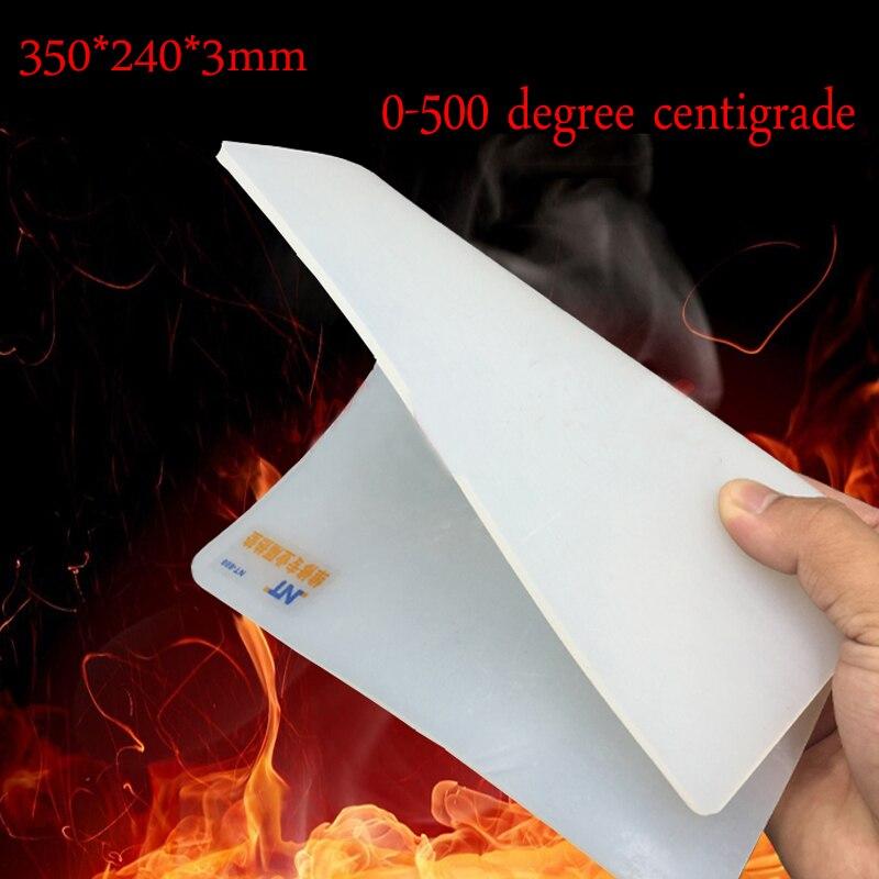 Heat-resistant Silicone Insulation Mat BGA Soldering Station Insulator Pad Desk Mat Maintenance Platform