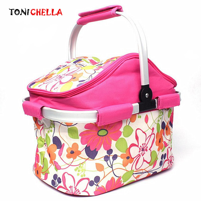 Baby Feeding Milk Bottle Thermal Insulation Bag Mummy Portable Travel Food Breast Milk Keep Warm Large Box Foldable Tote BB5028 62 l large food and beverage car trunk bag refrigerator insulation families waterproof valiz hot lunch bag takeout box suitcase