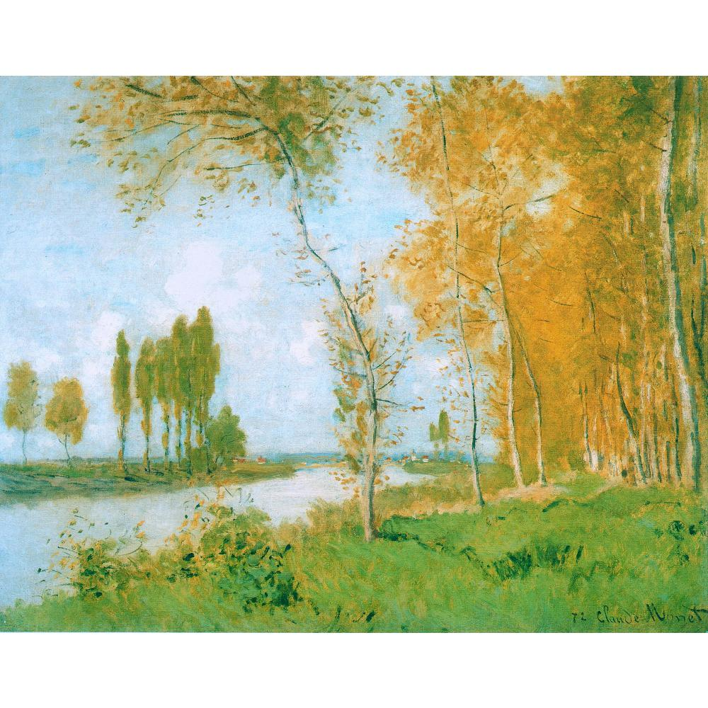 Handmade oil painting reproduction of Claude Monet High quality The Spring in Argentuil Living room decorHandmade oil painting reproduction of Claude Monet High quality The Spring in Argentuil Living room decor