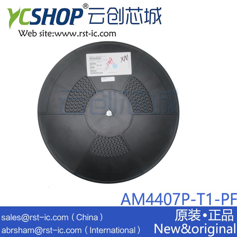 AM4407P-T1-PF AM4407P AM4407 SOP-8 P-Channel -15A -30V (D-S) MOSFET