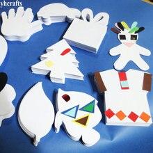 100 PCS/LOT.9 дизайн Бумага свободная форма детского сада декоративно-прикладного искусства материалы для рукоделия вырез бумажный трафарет граффити рисунок boardoem