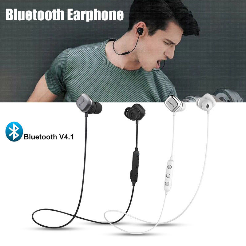 YISHANGOU QCY M1 Pro Magnetic Headset Bluetooth Wireless Sports Headphone Earphone Universal Type Music Call Headphones With Mic awei a920bls bluetooth earphone wireless headphone sport headset with magnet auriculares cordless headphones casque 10h music