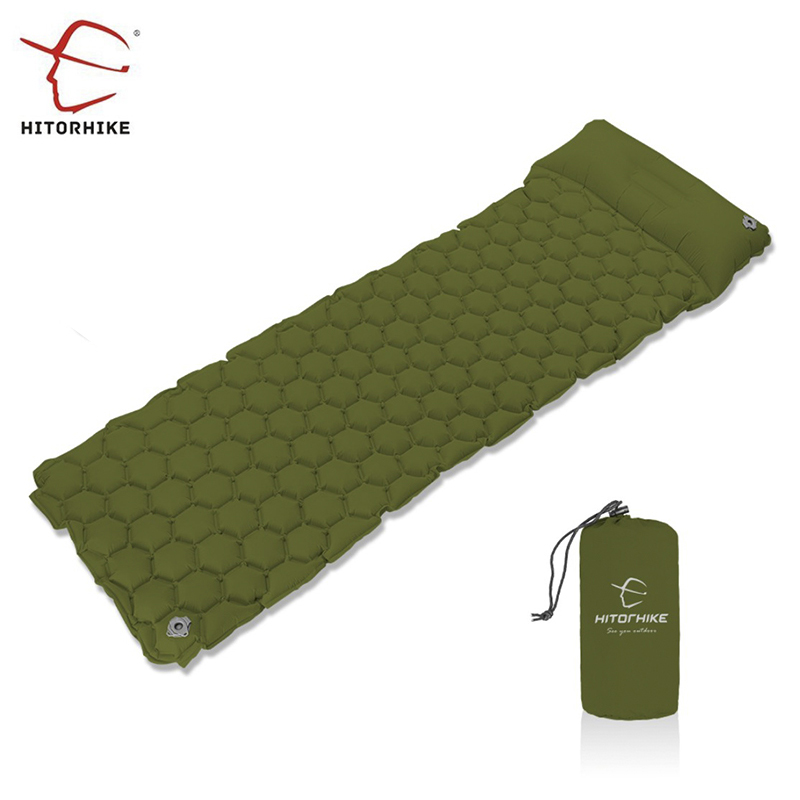 Ultralight Sleeping Pad Air Mattress Inflatable Bed for Tent Portable Outdoor Air Bed Moistureproof Pad Camping