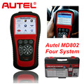 AUTEL MaxiDiag Elite MD802 for 4 System With Data stream Model Engine,Transmission,ABS and Airbag 4 in 1 Auto Code Scanner