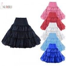 Vintage Short Cheap Bridal Wedding Petticoat Crinoline Tulle Skirt Rockabilly Tutu Underskirt Accessories New