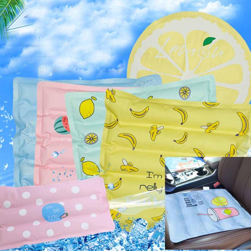 Ice Mat Cushion Mattress Single Student Summer Cooling Water Bag  ju02dropship