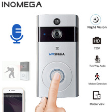 Security Protection - Intercom - INQMEGA Wireless Wifi Video Door Phone Home Security Camera Doorbell Alarm Remote Control Phone Baby Monitor Night Vision