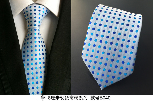 100% Silk Plaid Ties Gifts for Men 5