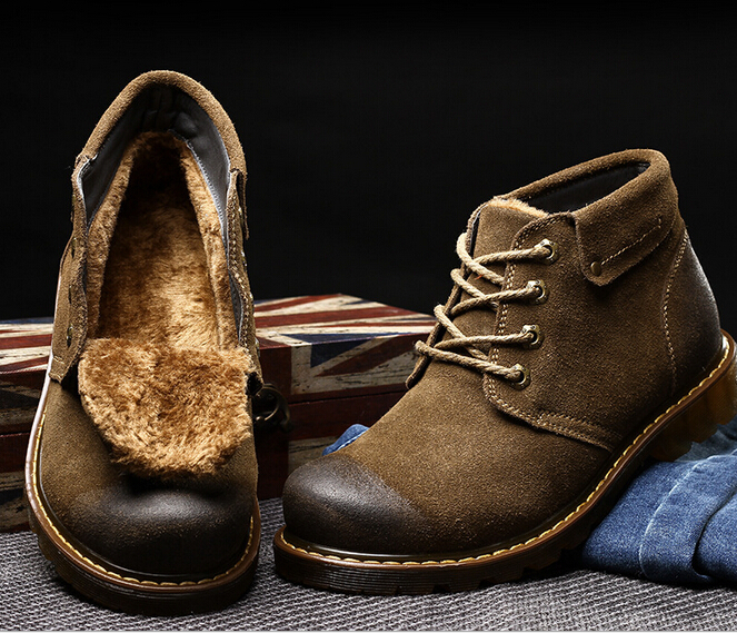 Aliexpress.com : Buy Men winter boots retro style best quality ...