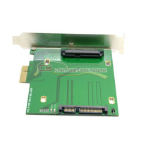 PCI E 3.0 x4 Lane to U.2 U2 Kit SFF 8639 Host Adapter for 750 NVMe PCIe SSD & Intel Motherboard