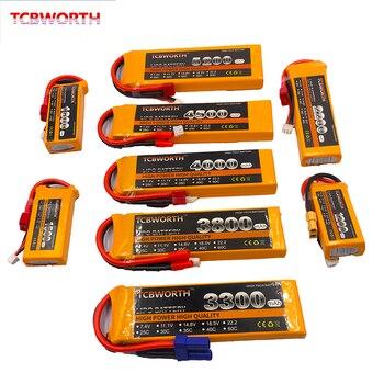 3S RC LiPo Battery 3S 11.1V 1100mAh 1300mAh 1500mAh 1800mAh 2200mAh 2600mAh 25C 35C 60C For RC Airplane Drone Boat 11.1V LiPo 3S 1