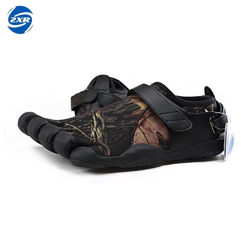 Zuoxiangru Design en caoutchouc avec cinq orteils extérieur antidérapant respirant léger alpiniste chaussures pour hommes