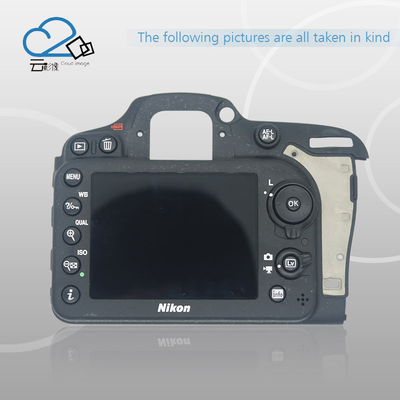 Free shipping !Test OK!D7200 back cover for Nikon D7200 Rear Cover Button Flex with LCD key FPC Camera repair parts d7200