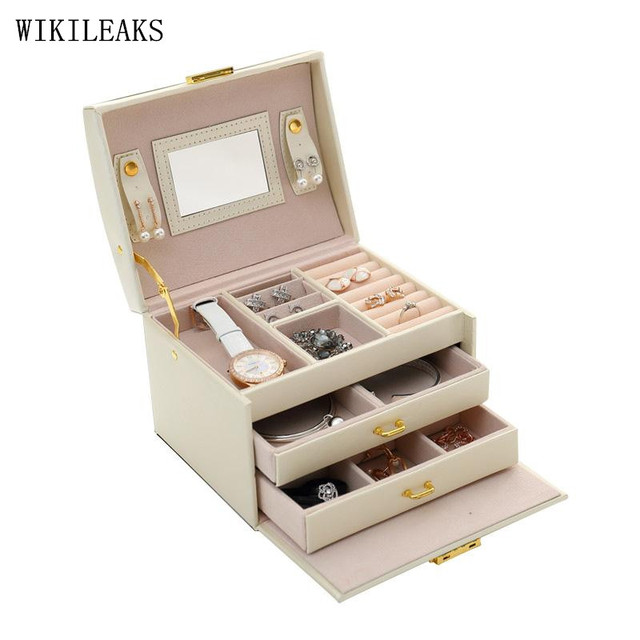 WIKILEAKS European Princess jewelry jewelry box multi cassette lock