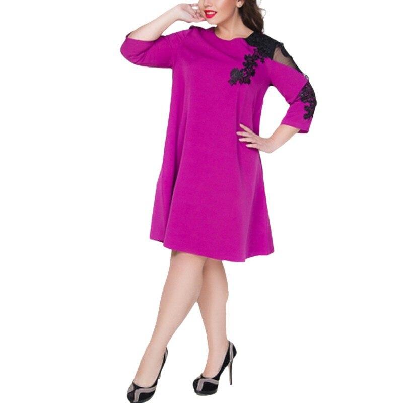 Lace Party Dress Women Lace Mesh Patchwork Large Casual Beach Summer Dress 5XL 6XL Vestidos Plus Size Mini Dress For Women