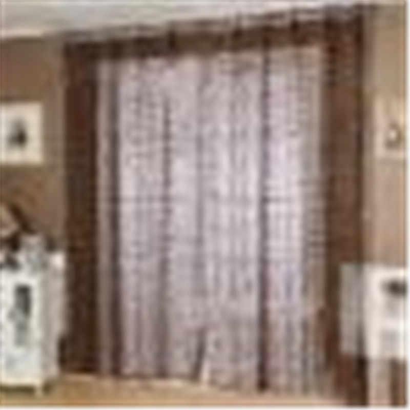Voiture fenêtre parasol 2 m x 1 m romantique fenêtre panneau drapé rideaux rideau porte chambre diviseur pure Voile rideau JUN1