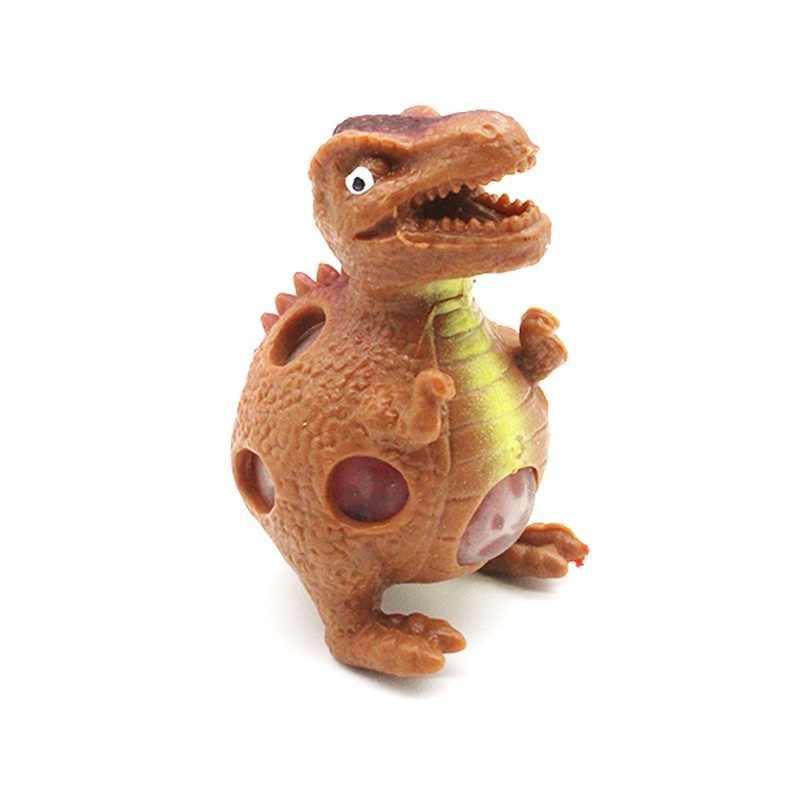 Симпатичное мягкое динозавр медленное нарастающее при сжатии заживляющая забавная игрушка для детей и взрослых стресс рельефный Декор случайный C