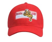 Bubba Gump Shrimp Co Hat Run Forrest Tom Hanks Red Hat Cap