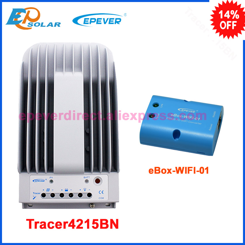 24 volts mppt regulator solar EPSolar charger controller 40A wifi communication box Tracer4215BN 40amp