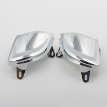 Front Chrome Headlight Cover Trims for Honda Goldwing Gold Wing GL1800 2001 2002 2003 2004 2005 2006 2007 2008 2009 2010 2011 chrome motorcycle passenger speaker outer trim case for honda goldwing gl1800 2006 2015 2007 2008 2009 2010 2011 2012 2013 2014