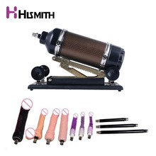 Hismith Automatic Sex Machine with 10 kinds Dildo Attachments, Love Machine Gun Stronger Power Automatic Machine for Women