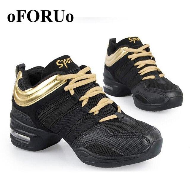 61fbe4a7 Zapatos de baile para mujer Jazz Hip Hop Zapatos Zapatillas de baile para  mujer talla grande