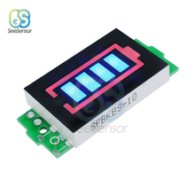12.6V 3S Li-po Li-ion Lithium Battery Capacity Indicator Module Blue Display Electric Vehicle Power Tester