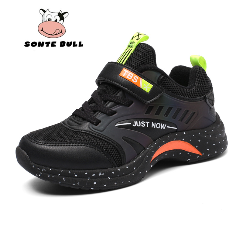 Outdoor Soft Non-slip Children Running Shoes Summer Breathable Mesh Kids Sneakers Fashion Light Casual Boys Shoes Size 28-40