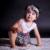 2016 Da Menina do Algodão Verão Dos Desenhos Animados Macacão de Manga Curta Jumpsuit Crianças Ternos 0-dois Anos E Bloomers Bebê Meninas Conjuntos de Roupas de Marca
