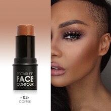 Focallure бронзатор и хайлайтер Макияж для лица легко носить натуральный хайлайтер осветитель макияж бронзер Хайлайтер для лица