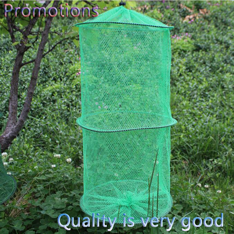 Hot sale 2 3 4 layer portable fishing net fish shrimp mesh for Fishing net for sale