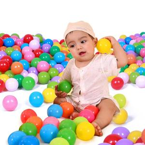 25pcs/50pcs/100pcs/lot Colorful Ocean Ball Soft Plastic Kids Tent House Play Balls Kid Outdoor Swimming Water Pool Ball Pit Toys