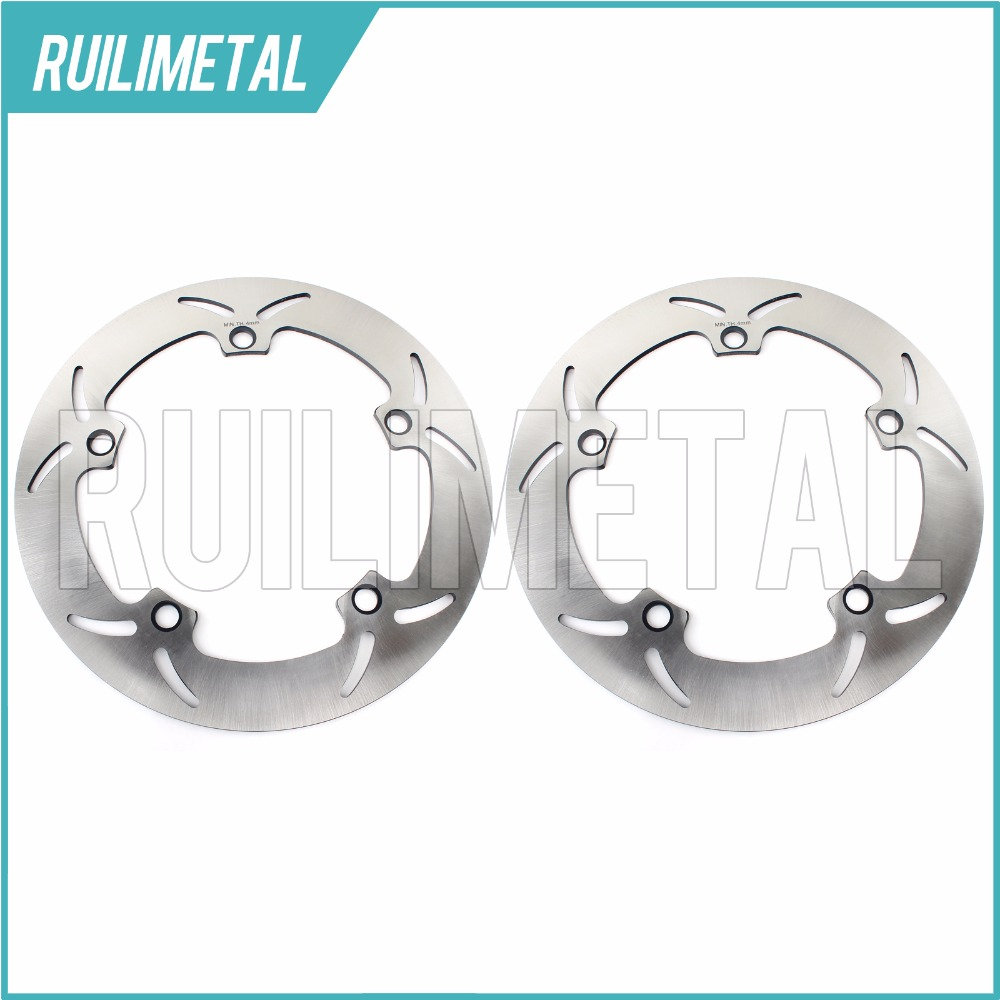 Full Set Front Brake Discs Rotors for R 850 C GS R 1100 S 1150 ADVENTURE 1200 LT RS CLASSIC CL ABS 2004-2014 front brake discs rotors for moto guzzi breva 850 1100 1200 05 09 griso 850 1100 1200 05 16 norge 850 1200 06 07 sport 1100 1200