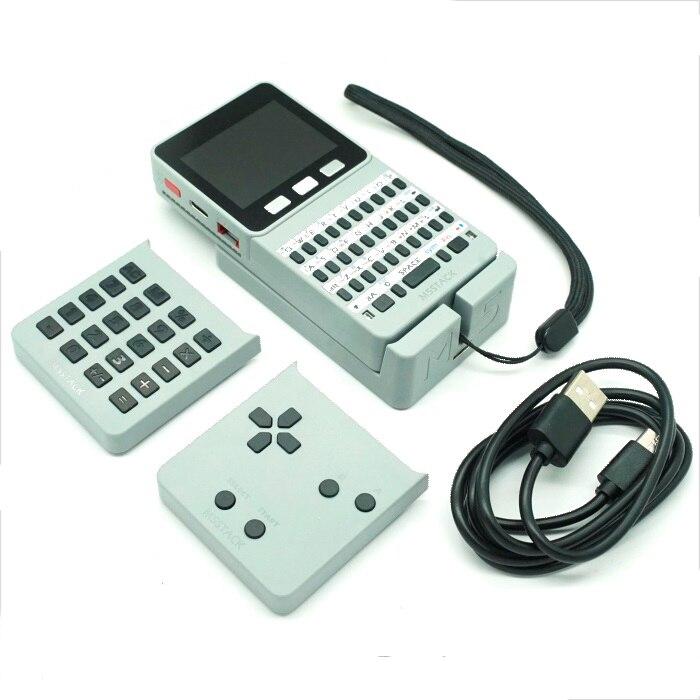 BLEL Горячая M5Stack ESP32 с открытым исходным кодом лица карманный компьютер клавиатурой/Gameboy/калькулятор для Micropython Arduino