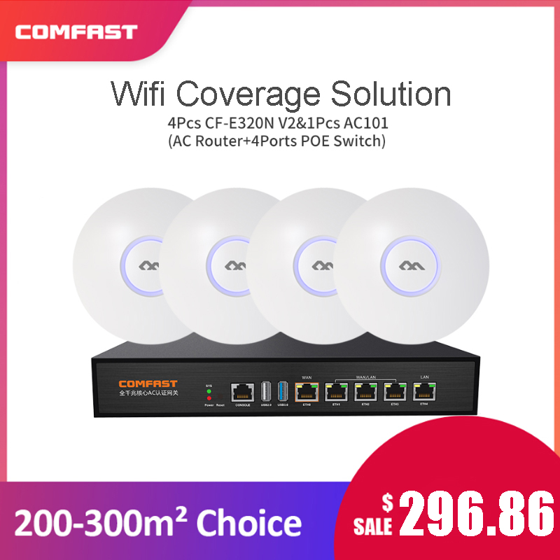 COMFAST Enterprise-System Wifi Access-Point Ac Core OPENWRT Ceiling Gateway-Controller