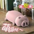 GOESTIME banco de la energía 10000 MAH portátil con forma de animal encantador de la historieta del cerdo Suave Cáscara de Energía Móvil Cargador de Teléfono para el teléfono móvil