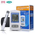 On Call Ultra Cholesterol Meter/Blood Lipid Analyzer/Blood Fat Monitor for Total Cholesterol with Test Strips&Lancets 25PCS