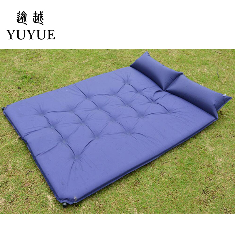 5cm Thick Double Resident Mattress For 2 Person Outdoor Camping Tent Air Bedding For The Air Mat For Beach Colchoneta Camping 2