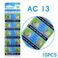 Frete grátis Hot Barato Bateria de 10 Pcs AG13 LR44 357A S76E G13 Celular Botão Bateria de Célula tipo Moeda Baterias 1.55 V alcalina