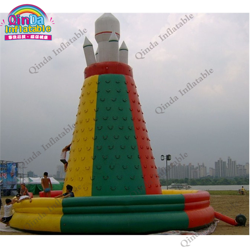 6m*6m*5m Inflatable Climbing Mountain Indoor Rock Climbing Wall For Kids And Adult Funny Games With Free Air Blower super funny elephant shape inflatable games kids slide toy for outdoor