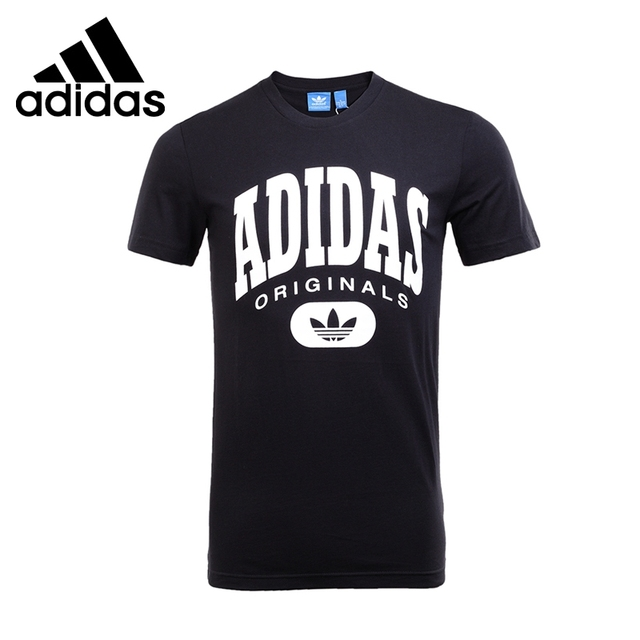 nice shoes buy cheap big sale US $54.0 |Original New Arrival 2017 Adidas Originals ARCHIVE LOGO TE Men's  T shirts short sleeve Sportswear-in Skateboarding T-Shirts from Sports & ...