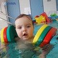 6 высокая плавучесть мягкий ребенок плавательный бассейн нарукавные повязки обучения плаванию кольцо Eva рука плавучего материала